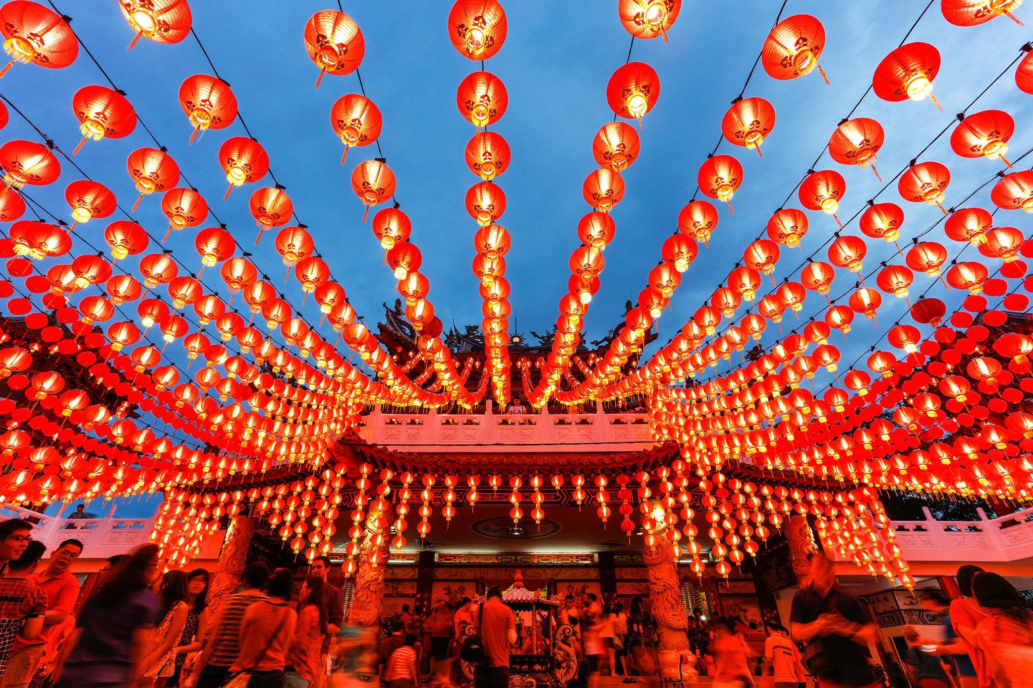 Turismo durante il Capodanno cinese